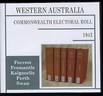 Western Australia Commonwealth Electoral Roll 1943