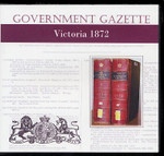 Victorian Government Gazette 1872