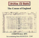 Cornwall 1871 Census
