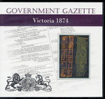 Victorian Government Gazette 1874