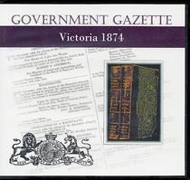 Victorian Government Gazette 1874