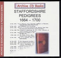 Staffordshire Pedigrees 1664-1700