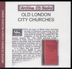 Old London City Churches
