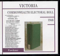 Victoria Commonwealth Electoral Roll 1946 Fawkner