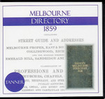 Melbourne Directory 1859 (Tanner)