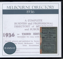 Melbourne Directory 1936 (Ramsay)