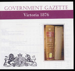 Victorian Government Gazette 1876