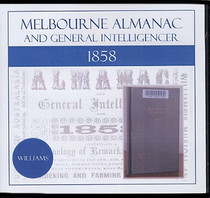 Melbourne Almanac and General Intelligencer 1858 (Williams)