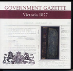 Victorian Government Gazette 1877