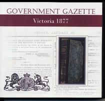 Victorian Government Gazette 1877