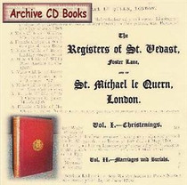 London Parish Registers: St Vedast and St Michael le Quern, London