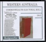 Western Australia Commonwealth Electoral Roll 1943 Kalgoorlie