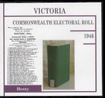 Victoria Commonwealth Electoral Roll 1946 Henty