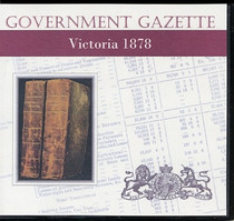 Victorian Government Gazette 1878
