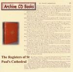 London Parish Registers: St Paul's Cathedral