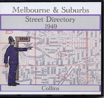 Melbourne and Suburbs Street Directory 1949 (Collins)