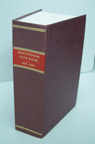 The Nottingham Date Book 850-1884 (book)