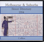Melbourne and Suburbs Street Directory 1954 (Collins)
