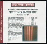 Nottinghamshire Phillimore's Parish Registers (Marriages) Volumes 1-27