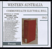 Western Australia Commonwealth Electoral Roll 1943 Swan