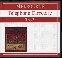 Melbourne Telephone Directory 1929