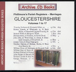 Gloucestershire Phillimore Parish Registers (Marriages) Volumes 1-17