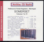 Somerset Phillimore Parish Registers (Marriages) Volumes 1-15
