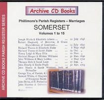 Somerset Phillimore Parish Registers (Marriages) Volumes 1-15