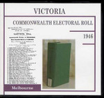 Victoria Commonwealth Electoral Roll 1946 Melbourne