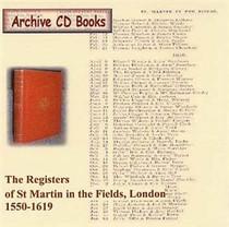 London Parish Registers: St Martin in the Fields, London 1550-1619