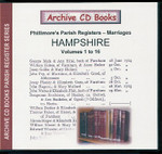 Hampshire Phillimore Parish Registers (Marriages) Volumes 1-16