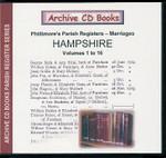 Hampshire Phillimore Parish Registers (Marriages) Volumes 1-16