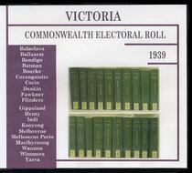 Victoria Commonwealth Electoral Roll 1939