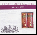 Victorian Government Gazette 1881