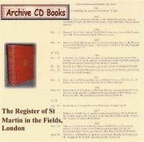 London Parish Registers: St Martin in the Fields, London 1619-1636