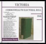 Victoria Commonwealth Electoral Roll 1946 Melbourne Ports