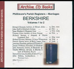 Berkshire Phillimore Parish Registers (Marriages) Volumes 1-2