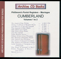 Cumberland Phillimore Parish Registers (Marriages) Volumes 1-2