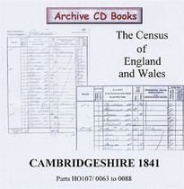 Cambridgeshire 1841 Census