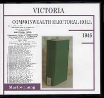 Victoria Commonwealth Electoral Roll 1946 Maribyrnong
