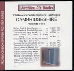 Cambridgeshire Phillimore Parish Registers (Marriages) Volumes 1-8