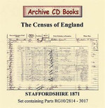 Staffordshire 1871 Census
