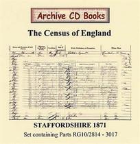 Staffordshire 1871 Census