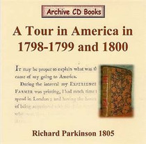 A Tour in America 1798-1799 and 1800