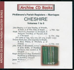Cheshire Phillimore Parish Registers (Marriages) Volumes 1-5