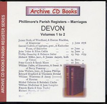 Devon Phillimore Parish Registers (Marriages) Volumes 1-2