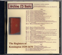 London Parish Registers: Kensington 1539-1675