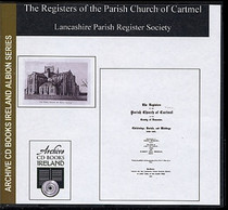 Lancashire Parish Registers: Cartmel 1559-1661