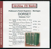 Dorset Phillimore Parish Registers (Marriages) Volumes 1-7