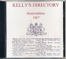 Hertfordshire 1867 Kelly's Directory